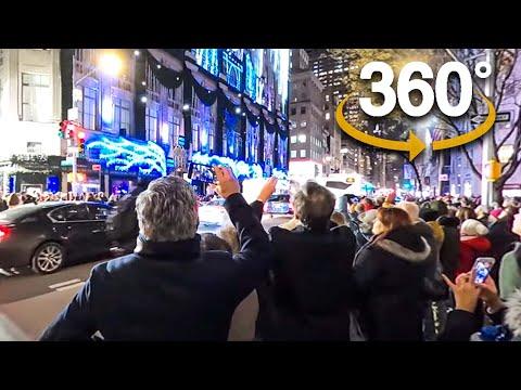 360° Christmas Walking NYC ✨5th Avenue, Rockefeller Center, Radio City Music Hall (December 2019)