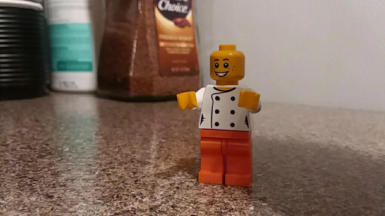 The Annoying Orange Lego version stop motion - YouTube