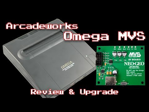 Neo Geo Omega MVS: Review And Upgrade