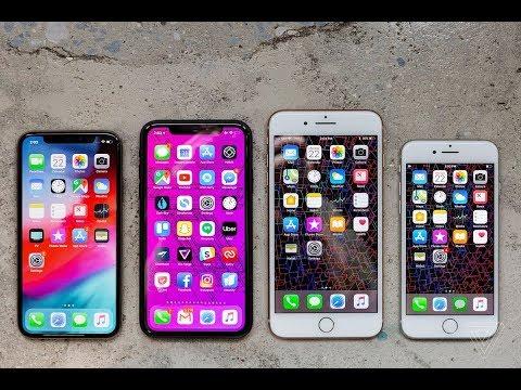 iPhone 7 Plus vs iPhone XR vs iPhone XS Max vs iPhone 11
