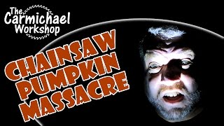 Chainsaw Pumpkin Massacre - A Halloween Horror Woodworking Project