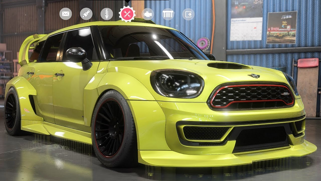 need for speed payback mini john cooper works. Black Bedroom Furniture Sets. Home Design Ideas