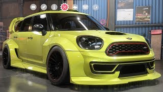 Need For Speed: Payback - MINI John Cooper Works Countryman - Customize | Tuning Car HD