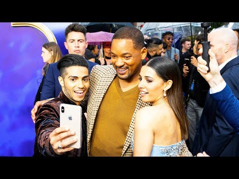ALADDIN European Premiere Red Carpet