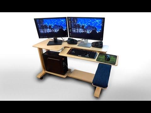How To Make A Modern Computer Desk