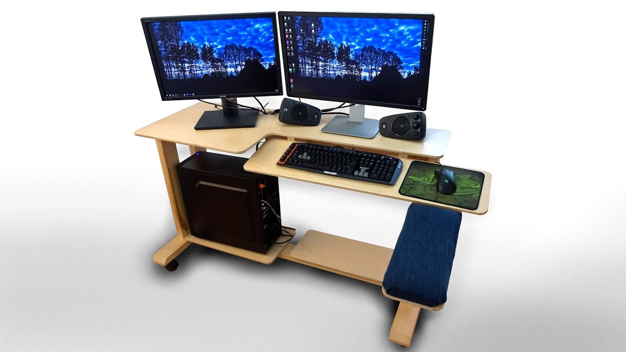 Awesome How To Make Computer Desk