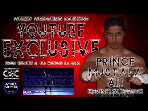 Exclusive w/ Prince Mustafa Ali (@PrinceAliTruth) - WWE CWC, Freelance, Dreamwave