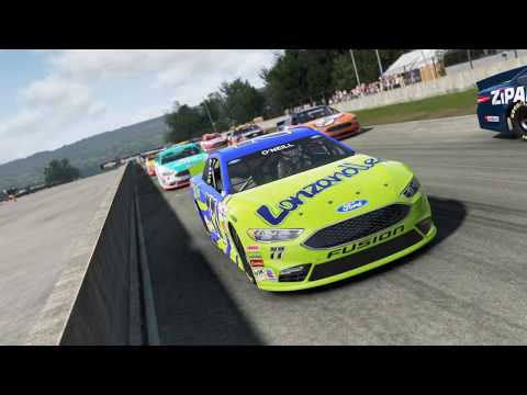 Project CARS GOTY édition. Road America, 20 tours. Ford fusion stockcar.