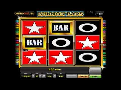 Novoline Bullion Bars online spielen (Novomatic)