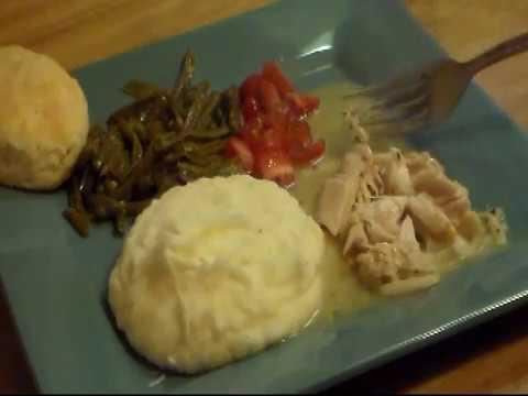 Pressure Cooker Chicken And Gravy