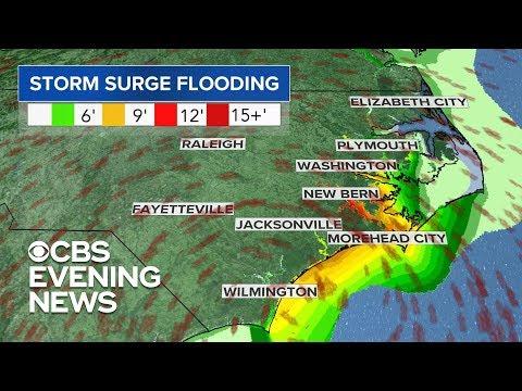 When will Hurricane Florence make landfall?