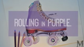 """Rolling in Purple"" 