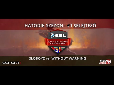 ESL SEC Season VI. CS:GO Qualifier #1 - Sloboyz vs Without Warning (cbble)