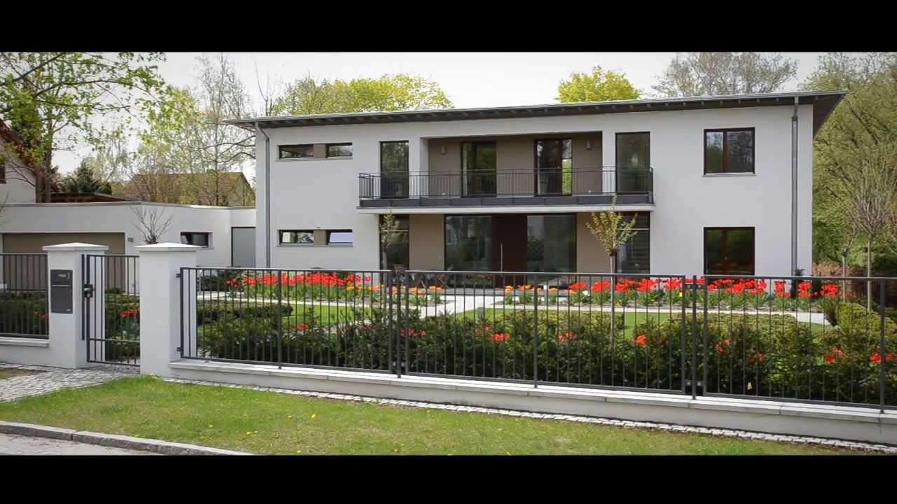 Massivhaus Birkenwerder immobilienvideo mit drohnen aufnahmen villa in birkenwerder