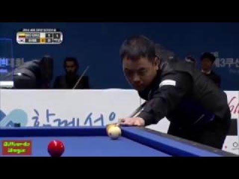 JaeHo Cho vs. Henry Diaz | 3 Cushion Billiards World Championship