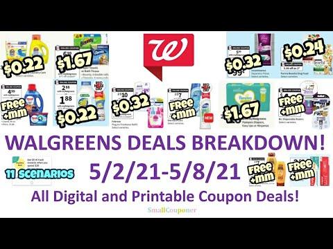 Walgreens Deals Breakdown 5/2/21-5/8/21! All Digital and Printable Coupon Deals!