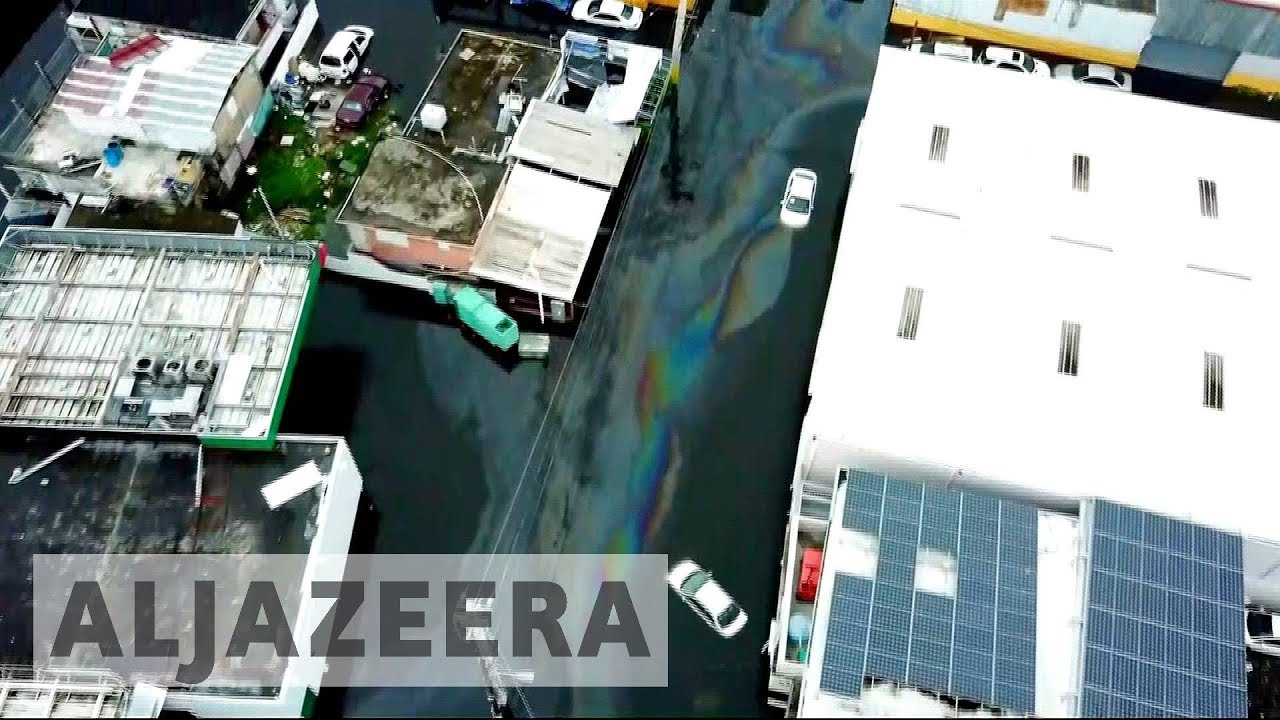 Puerto Rico: Thousands evacuated after Hurricane Maria damages dam