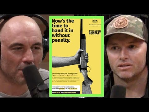 Joe Rogan Has Adam Greentree Explain Australian Gun Laws