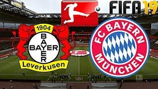 FIFA 19 | FC BAYERN MÜNCHEN vs. BAYER LEVERKUSEN | BUNDESLIGA ◄FCB #37►