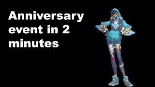 The Overwatch anniversary event described in 2 minutes