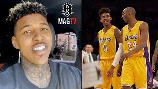 Swaggy P Smiles To Keep From Crying Talking About Kobe!  🙏🏽
