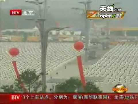 yo en Beijing Television, directo