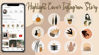 Download Tutorial Cara Bikin Highlight Cover Aesthetic Instagram Story  - Edit by Siti Rahma Fitri Yani