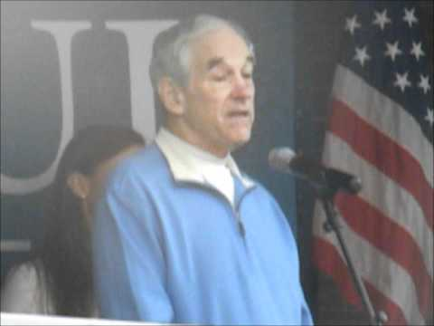 Ron Paul Presidential Campaign 2012 Freeport Maine.wmv