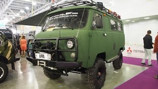 UAZ 452 Buhanka 4x4 Offroad Tuning - Exterior Walkaround(UAZ 452 Buhanka Offroad Tuning - Exterior Walkaround Moscow International Automobile Salon 2014 Welcome to AutoXan!!! If you liked this video, please be ..., 2015-01-08T11:14:17.000Z)
