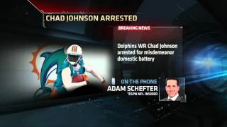 NFL: Chad Johnson arrested