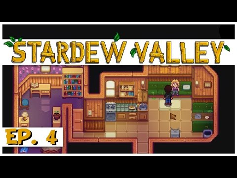 Stardew Valley - Ep. 4 - The Gift of Green Algae! - Let's Play Stardew Valley Gameplay