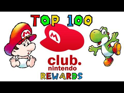 Top 100 Club Nintendo Rewards - SGR