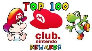 Top 100 Club Nintendo Rewards - SGR