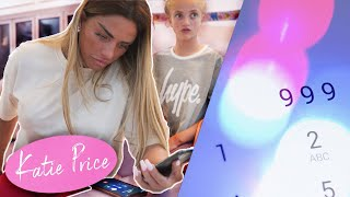 KATIE PRICE: I CALLED THE POLICE! (SCARY!)