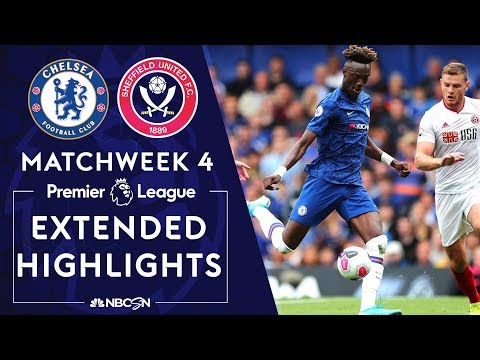 Chelsea v. Sheffield United | PREMIER LEAGUE HIGHLIGHTS | 8/31/19 | NBC Sports