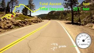Donner Summit East Descent  Truckee California June 28 2014