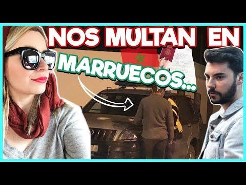🚔Nos PARA la POLICIA en MARRUECOS 🇲🇦 y ¡NOS MULTAN! 😱| Familia Carameluchi 👨👩👧👦