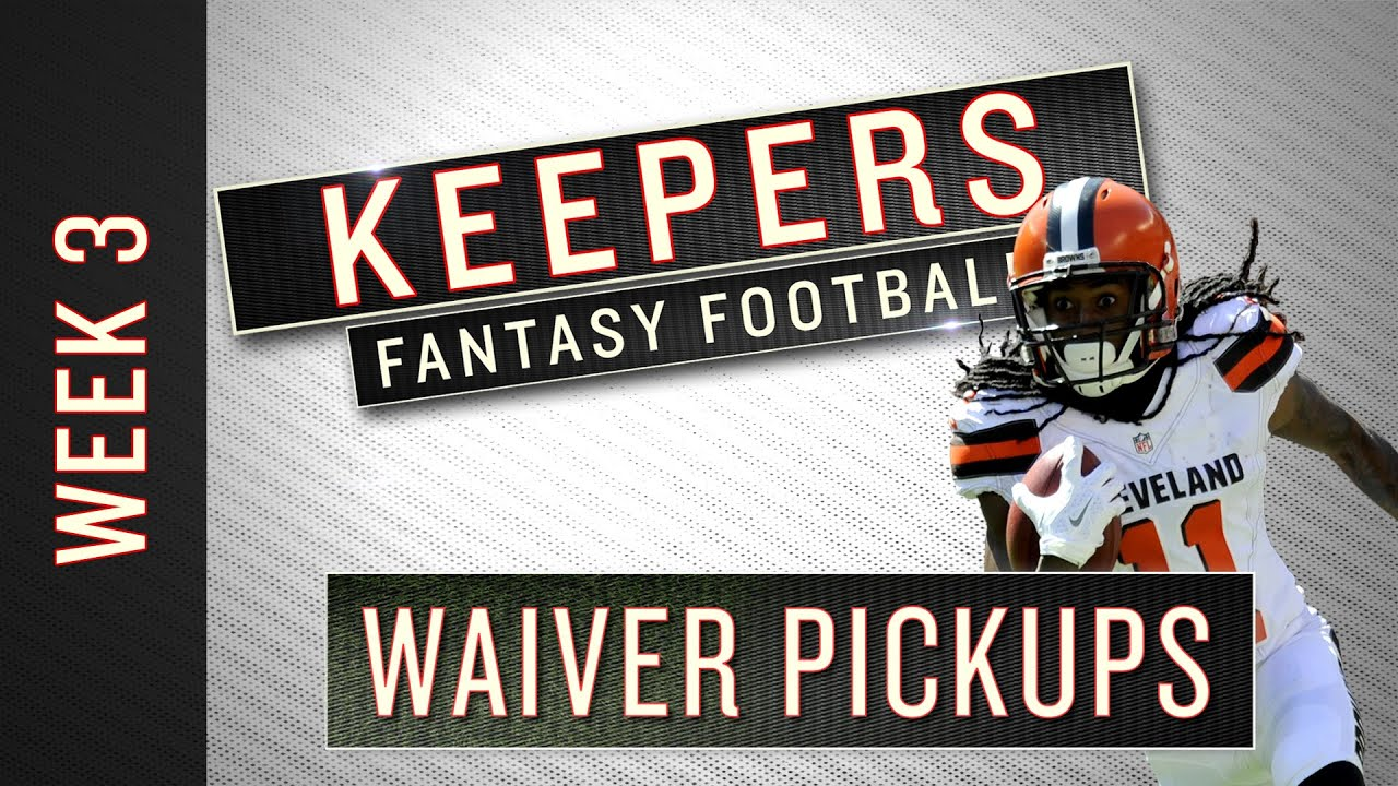 Week 3 fantasy football waiver-wire targets
