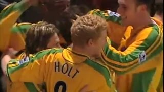 Norwich City v Middlesbrough 2004-05 QUEUDRUE HASSELBAINK GOAL 4-4