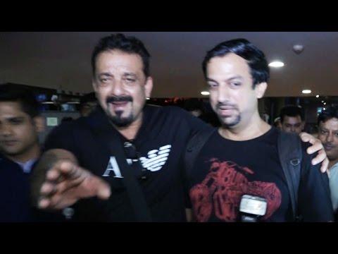 Sanjay Dutt Gets ANGRY At Airport Authorities At Mumbai Airport?