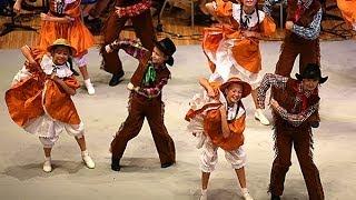 """Американский танец в стиле """"кантри""""."""