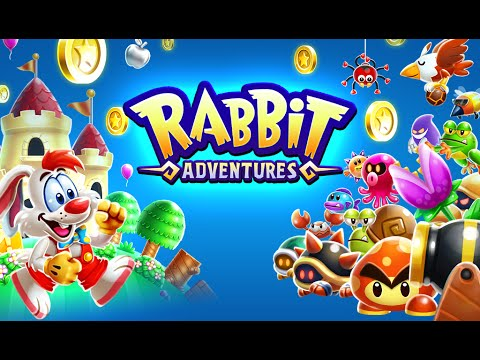 "Rabbit Adventures ""Platformer Games Adventure"" Android Gameplay Video"
