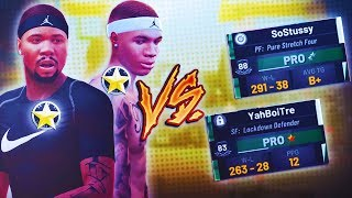 2 BROTHERS VS NO IQ! TRE EXPOSES A TEAM'S SCHEME MID GAME! NBA2K19 TREANDJ