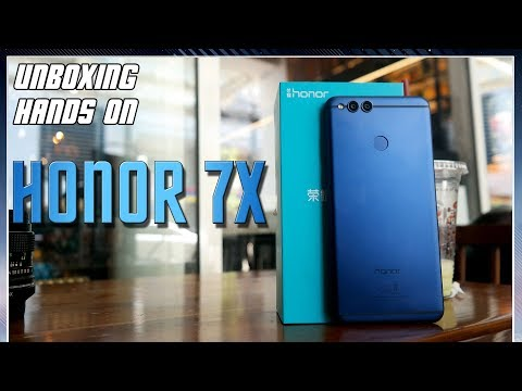 Honor 7X Unboxing & Hands On Indonesia