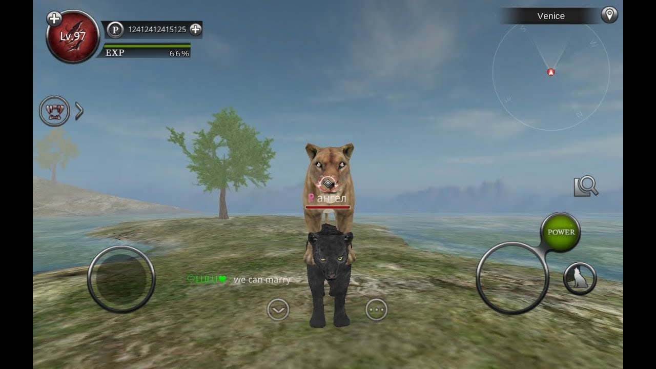 NOT EDITED/RAW VIDEO* wild animals online infinity mod by me