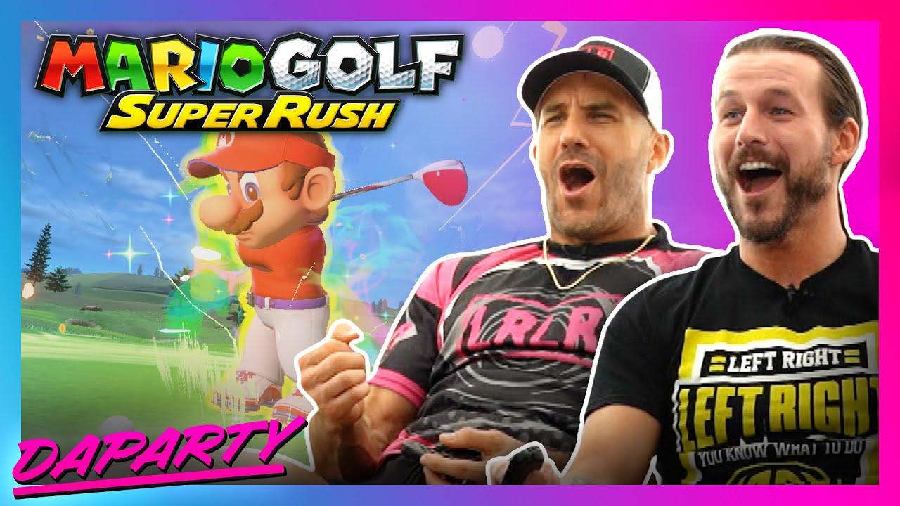 DaParty Plays — Mario Golf: Super Rush!!!