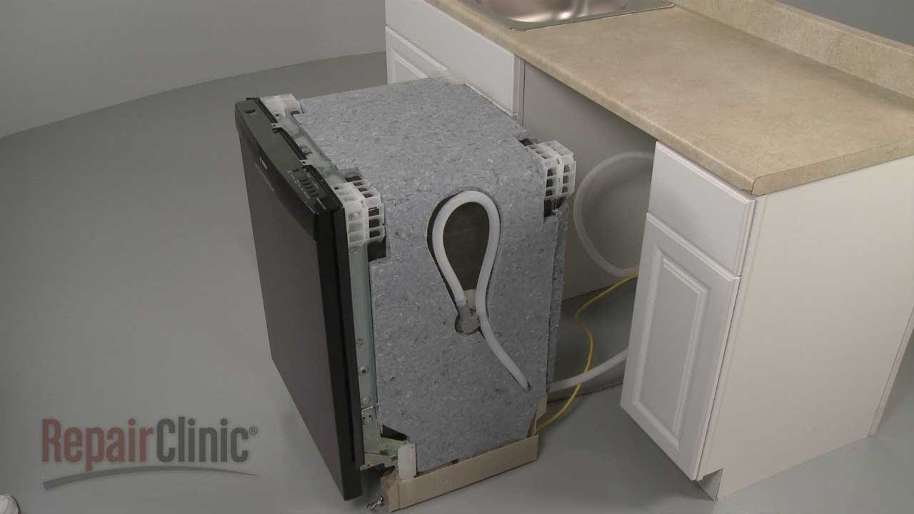 Bosch Dishwasher Removal and Installation, Repair Help - YouTube