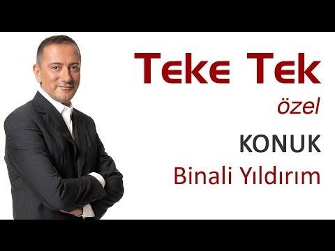 Binali Yıldırım İzmir projelerini Teke Tek'te açıkladı - 1