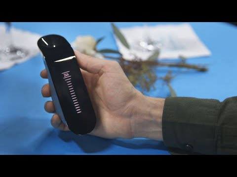 This gadget can instantly decant wine
