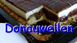 Donauwellen (Kuchen mit Cremefüllung) Rezept